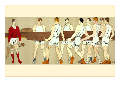 Rowing Crew Carrying Scull Posters