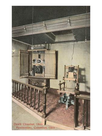 Electric Chair, Columbus, Ohio Prints
