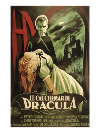 Dracula Movie Poster Prints
