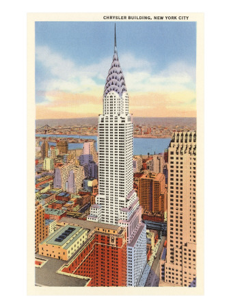 The Chrysler Building, New York City Premium Poster