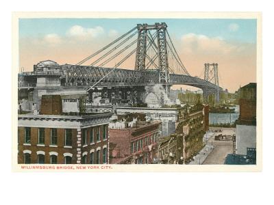 Williamsburg Bridge, New York City Prints
