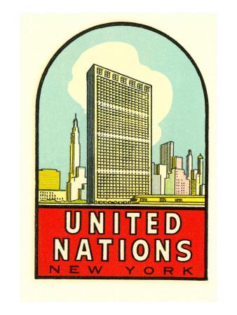 United Nations, New York Prints