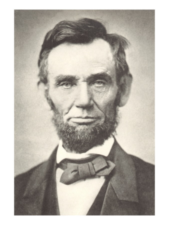 Early Photograph of Abraham Lincoln Prints