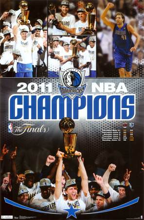 2011 NBA Finals - Celebration Poster