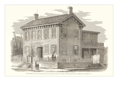 Abraham Lincoln House, Springfield, Illinois Prints