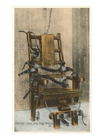 Electric Chair, Sing Sing, New York Posters