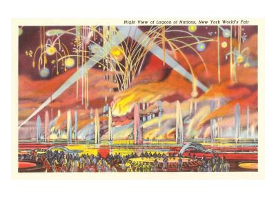 Fireworks, New York World's Fair, 1939 Arte