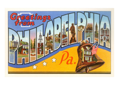 Greetings from Philadelphia, Pennsylvania Posters