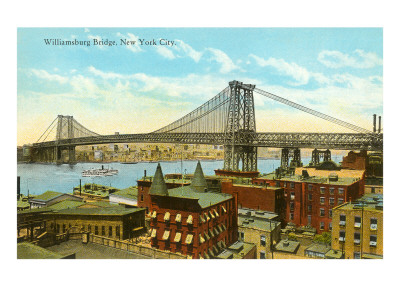 Williamsburg Bridge, New York City Art