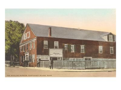 Whaling Museum, Nantucket, Massachusetts Posters