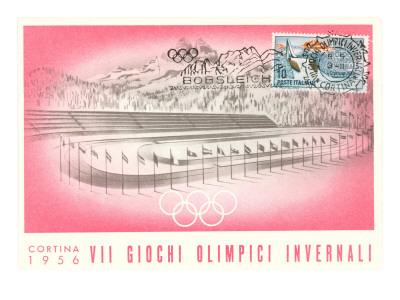 Winter Games, Cortina, 1956 Prints