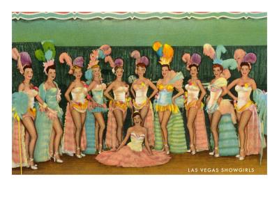 Showgirls, Las Vegas, Nevada Posters