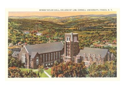 Law School, Cornell University, Ithaca, New York Prints