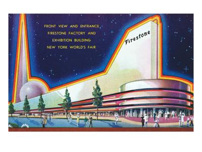 Firestone Building, New York World's Fair Pósters