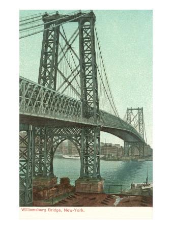 Williamsburg Bridge, New York City Posters