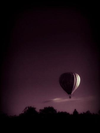 Hot Air Balloon Photographic Print by David Ridley