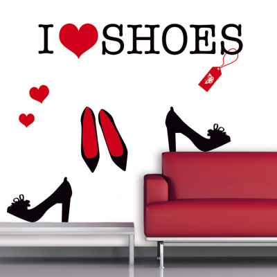 i love shoes wall decal at allposters i love shoes 400x400