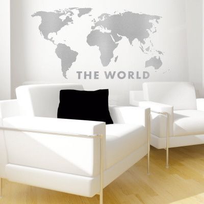 The World Wall Decal