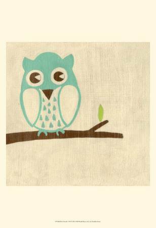 Best Friends - Owl Reproduction d'art