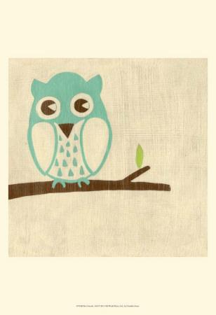 Best Friends - Owl Prints by Chariklia Zarris