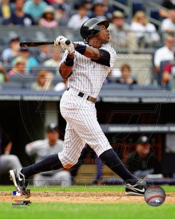 New York Yankees - Curtis Granderson 2011 Action Photo