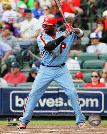 Philadelphia Phillies – Ryan Howard 2011 Action Photo