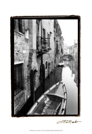 Waterways of Venice V Art by Laura Denardo