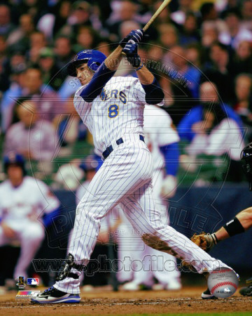 Milwaukee Brewers - Ryan Braun 2011 Action Photographie