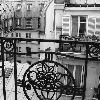 Paris Hotel I Kunst af Alison Jerry