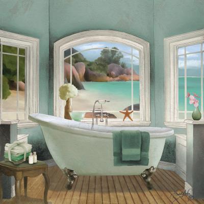 Oceanview II Poster by Elizabeth Medley