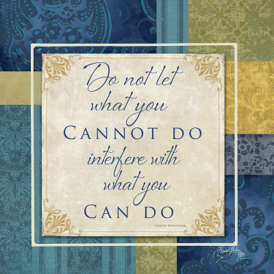 What You Can Do Art Print