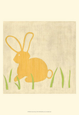 Best Friends - Bunny Art by Chariklia Zarris