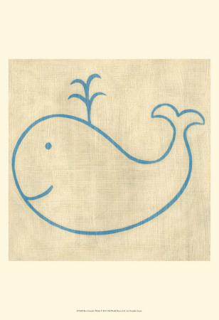 Best Friends - Whale Art by Chariklia Zarris