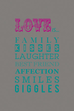 What Love Is... Posters by Sasha Blake