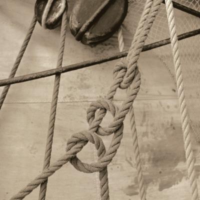 Nautical Aspect V Print by Michael Kahn