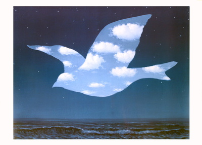 La Promesse Poster by Rene Magritte
