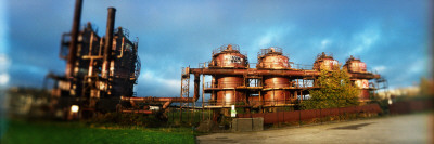 Old Oil Refinery, Gasworks Park, Seattle, King County, Washington State, USA Photographic Print