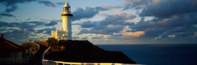 Lighthouse at the Coast, Broyn Bay Light House, New South Wales, Australia Photographic Print