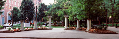 Entrance of a Park, Krutch Park, Knoxville, Knox County, Tennessee, USA Photographic Print