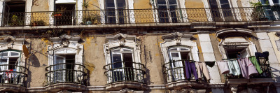 Low Angle View of a Building, Lisbon, Portugal Photographic Print