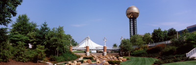 Sunsphere in a Fair, World's Fair Park, Knoxville, Knox County, Tennessee, USA Photographic Print