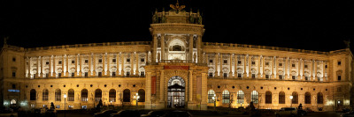 Facade of a Palace, the Hofburg Complex, Vienna, Austria Photographic Print