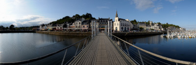 Pier on a Port, Binic, Cotes-D'Armor, Brittany, France Photographic Print
