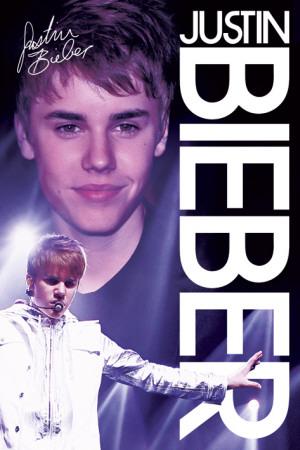 Justin Bieber Lives on Justin Bieber  Live Plakat