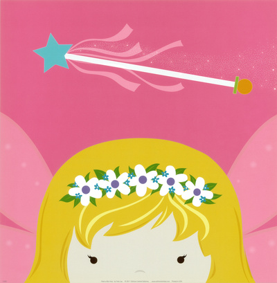 Peek-a-Boo Heroes: Fairy Prints by Yuko Lau