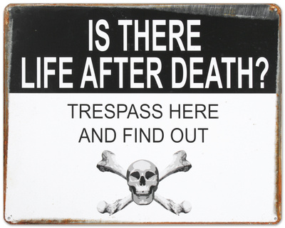 Life After Death Cartel de chapa