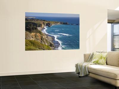 Big Sur Coastline in California, USA Wall Mural by Chuck Haney