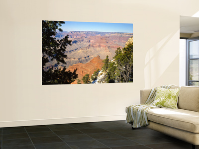 Towers and Spires From Grandview Point Temples, Grand Canyon National Park, Arizona, USA Wall Mural by Bernard Friel