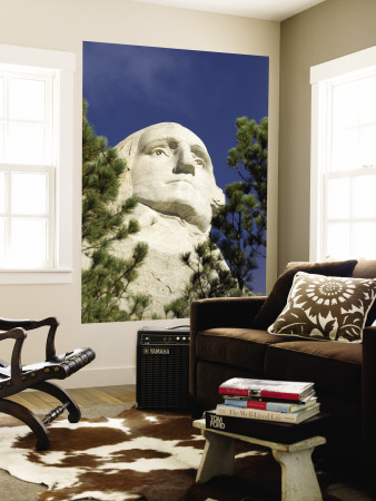 Mount Rushmore, Keystone, Black Hills, South Dakota, USA Wall Mural by Sergio Pitamitz