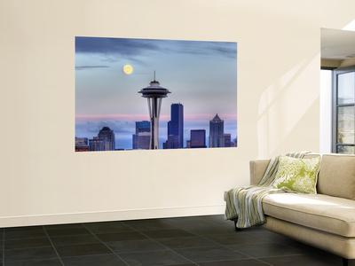 Skyline From Kerry Park, Seattle, Washington, USA Wall Mural by Jamie & Judy Wild